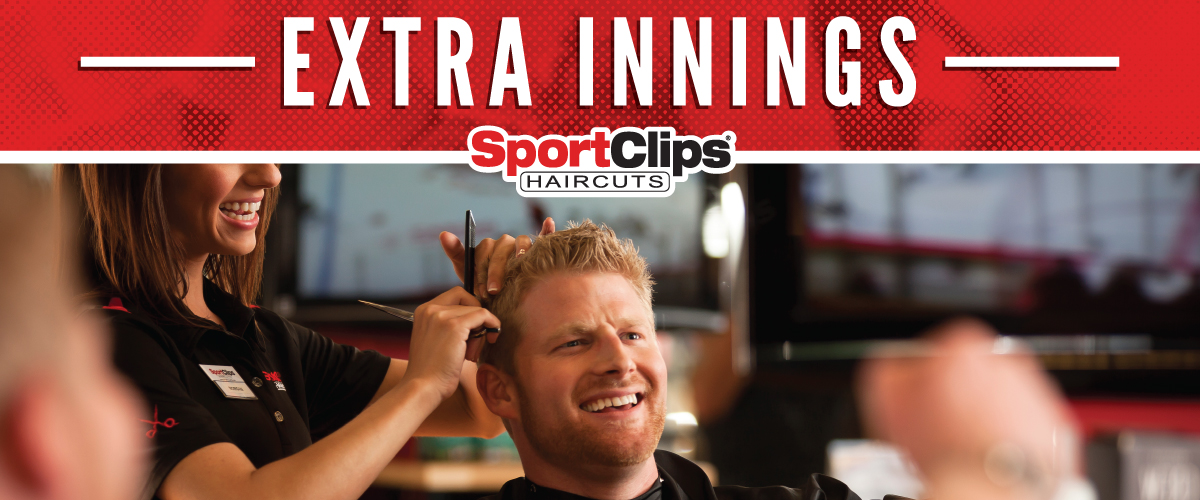 The Sport Clips Haircuts of Killian Marketplace Extra Innings Offerings